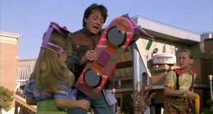 Marty Grabs Hoverboard